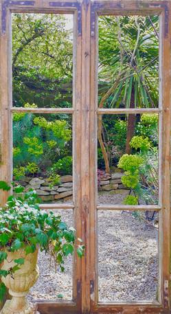 Fenêtre sur jardin - 100x185 - 160 €