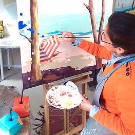 cours de peinture nantes atelier camus