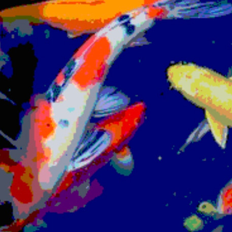 Red fish 3 / 90X90/ 90 €