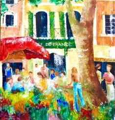 Café de France / 90x90 / vendu