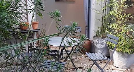 Vidéo du jardin de l'atelier Camus à Nantes.