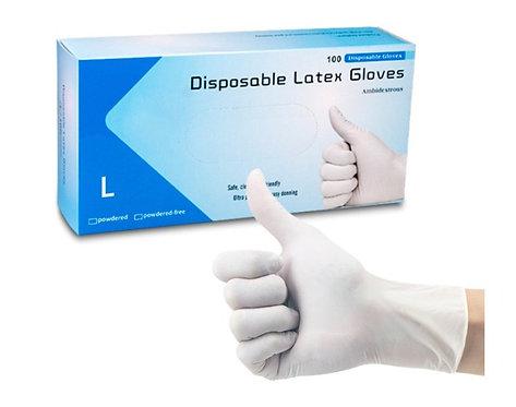 Latex Gloves- Box of 100