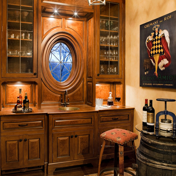Private Residence: Wine Room