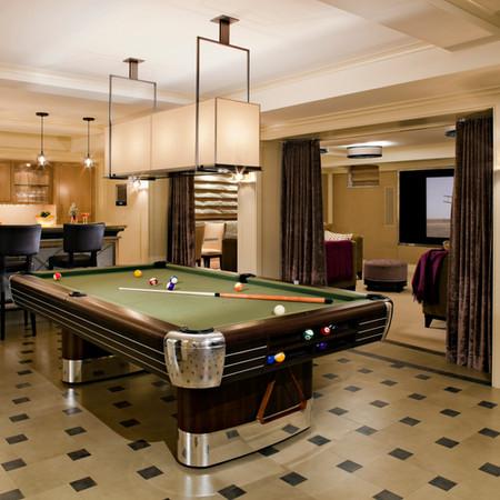 Private Residence: Billiards