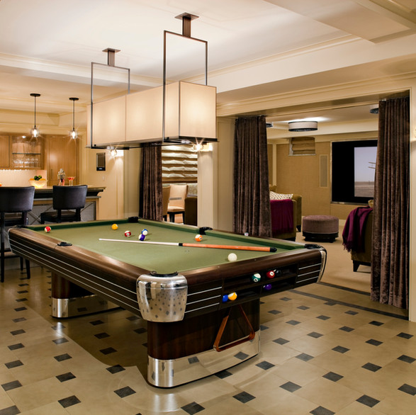 Private Residence: Billiards