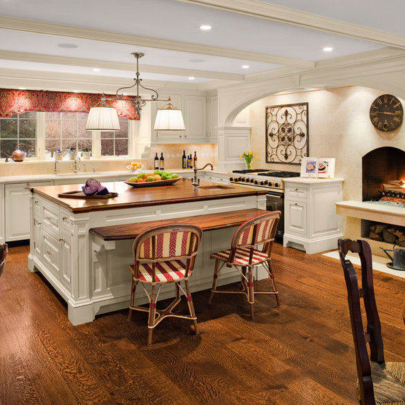 Private Residence: Kitchen