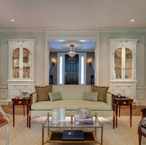 Private Residence: Living Room