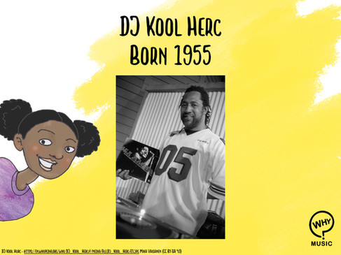 The Why Music Podcast Ep.3 - DJ Kool Herc
