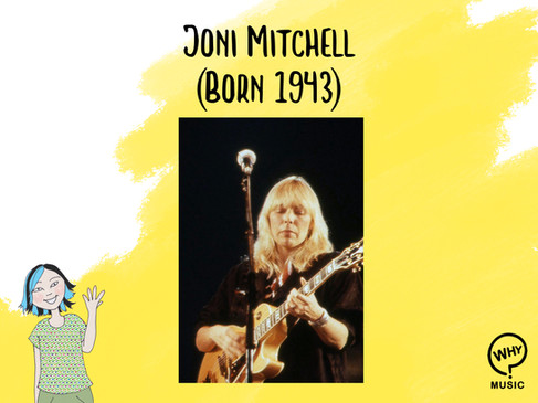 The Why Music Podcast Ep.6 - Joni Mitchell