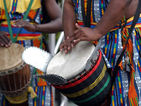 'African' drumming, the homogenisation of a continent