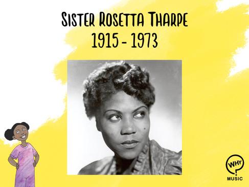 The Why Music Podcast Ep.2 - Sis Rosetta Tharpe