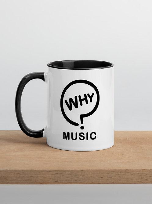 Official Why Music Mug