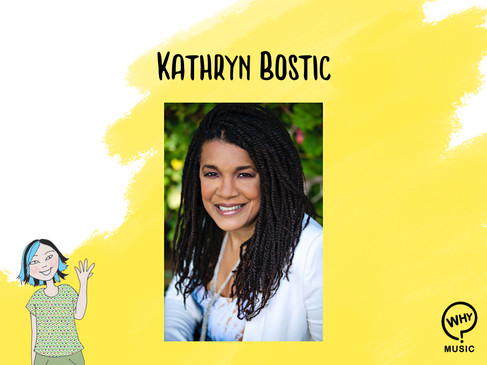 The Why Music Podcast Ep.5 - Kathryn Bostic