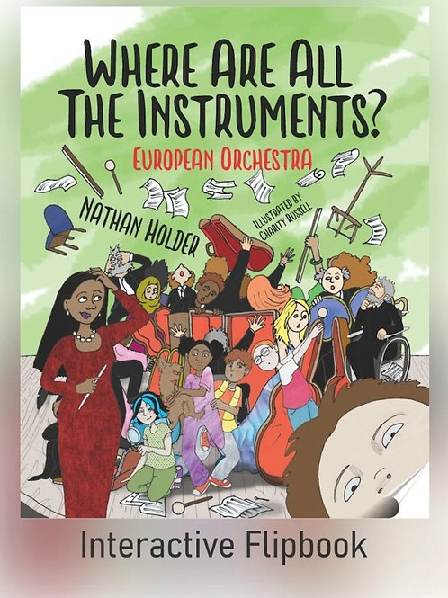 Where Are All The Instruments? [Interactive Flipbook] - from F-flat books