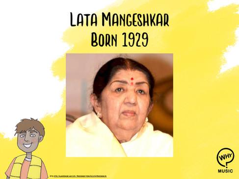 The Why Music Podcast Ep.9 - Lata Mangeshkar