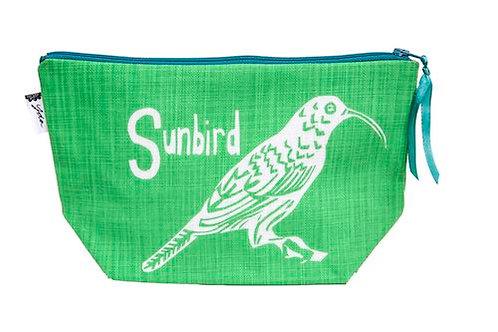 sunbird mint makeup purse