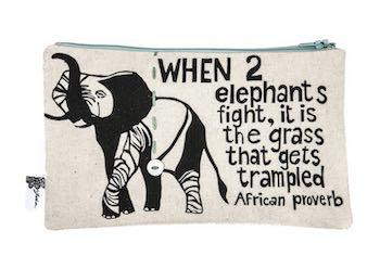 purse– elephant cream