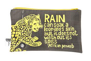purse– leopard stone
