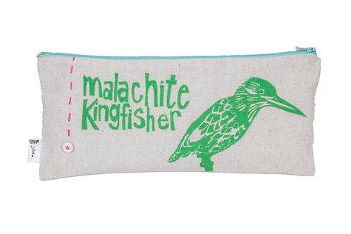malachite kingfisher p/case