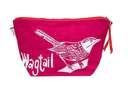 wagtail fuchsia makeup purse