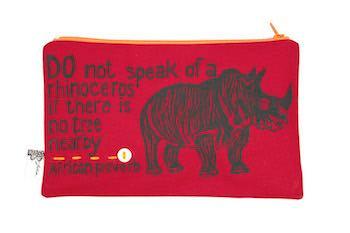 purse– rhino red