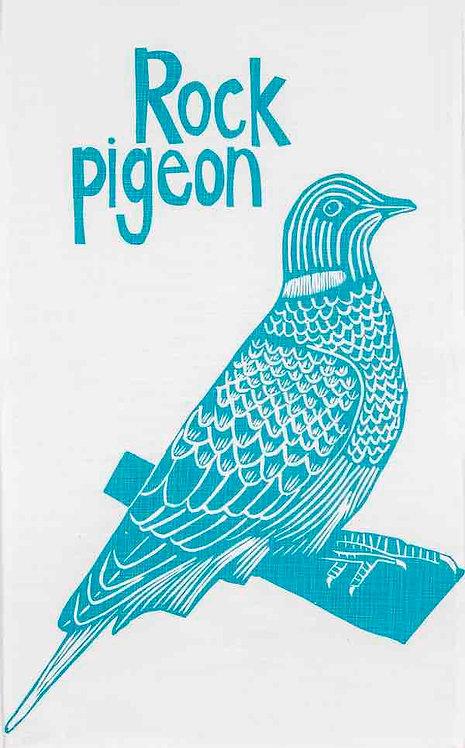 rock pigeon t-towel
