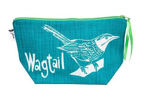 wagtail teal makeup purse