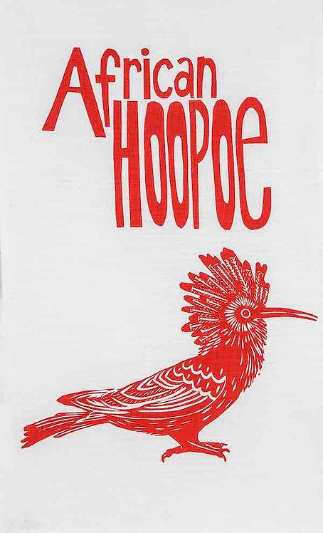 african hoopoe t-towel