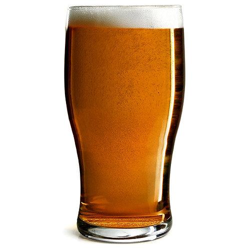 Tulip 12 Oz  Cowtown Logo- Beer Glass