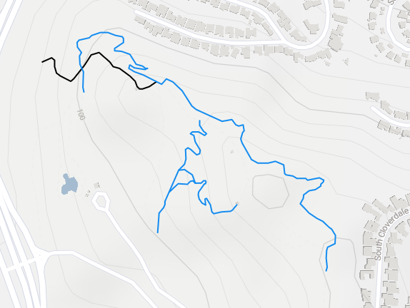 Kenneth Hahn MTB Trails.png