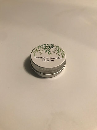 Homemade Lavender& Coconut Lip Balm 15g