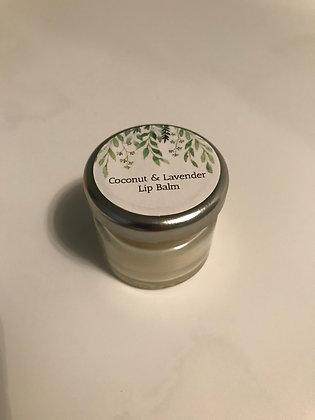 Coconut & Lavender Lip Balm 20g