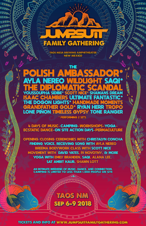 UF back at Jumpsuit Family Gathering/Routing Dates now for Colo/SW