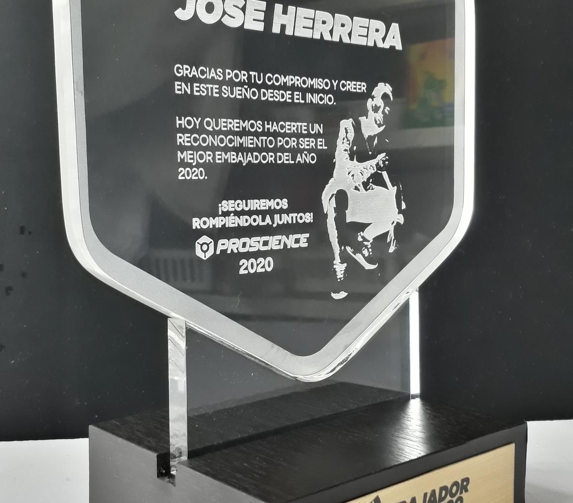 Premio Acrílico