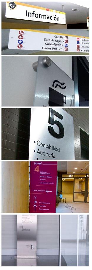 Señales, Señales oficina, Señalización interior, Avisos oficina, Señalética oficinas, Señales hoteles Edificios, Señalización industrial