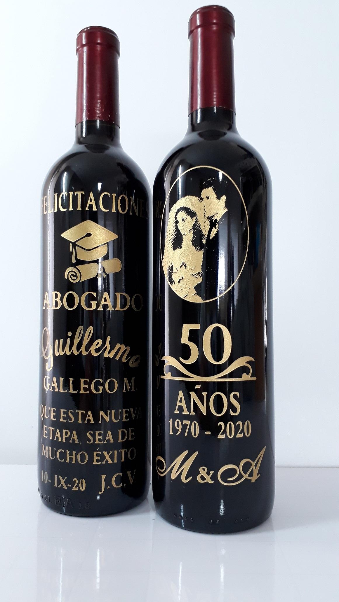 Botellas Grabadas
