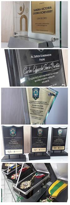 Reconocimientos   Placas   Premios   Trofeos   Trofeos láser   Placas grabadas   Placas de reconocimiento   Reconocimientos en Cristal   Reconocimientos en vidrio   Medallas condecorativas