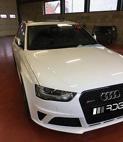 Audi RS4 Voorruit Reparatie, Sterretje i