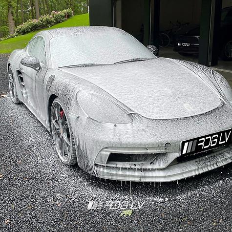 Porsche Cayman 718 GTS Hand Wash Detail.