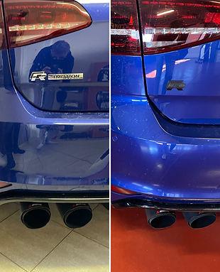 VW Golf 7R - Exterieur aanpassingen