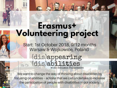 Call for volunteers! Long-term project in Poland 2018/2019!