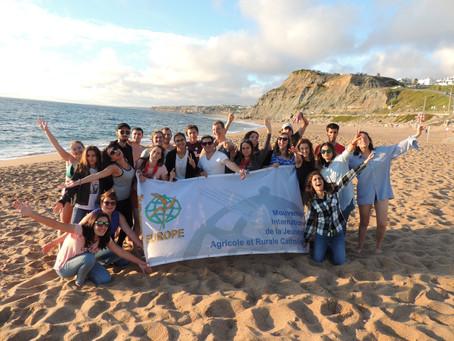 A call of peace for all. ԵԱԴ-ն մասնակցել է երիտասարդական ճամբարի Պորտուգալիայում