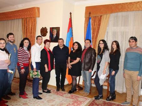 Հայաստանի և Չեխիայի հայ երիտասարդները հանդիպեցին Պրահայում