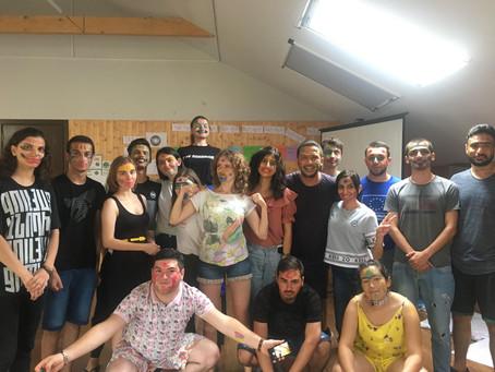 FYCA members for peace in the region. Exchange program in Georgia
