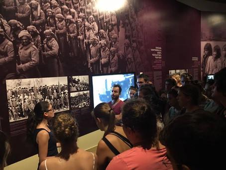 Տասնյակ եվրոպացի երիտասարդներ, միջազգային ամառային ճամբարի շրջանակներում, այցելեցին Հայոց ցեղասպանու