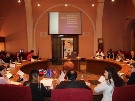 Եվրոպացի երիտասարդները Հայաստանում «Թավշյա հեղափոխության» ականատեսը դարձան