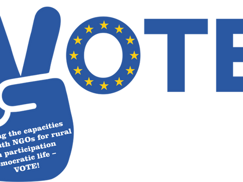 """Youth as a Driving Avant-Garde Force. """"VOTE!"""""""