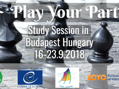 """""""Play your part! – Strengthening urban and rural youth participation"""" Study Session will t"""