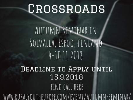 Call for participants! Youth project in Finland!!!