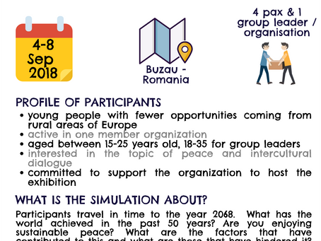Call for a project in Romania: Messages from the future!